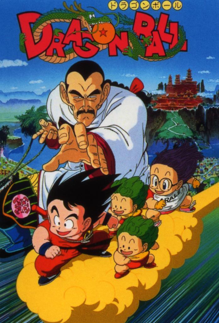 Dragon Ball goku e Arale