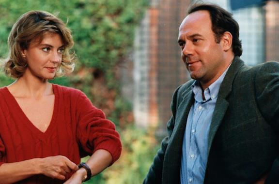 Margherita Buy e Carlo Verdone sul set del film
