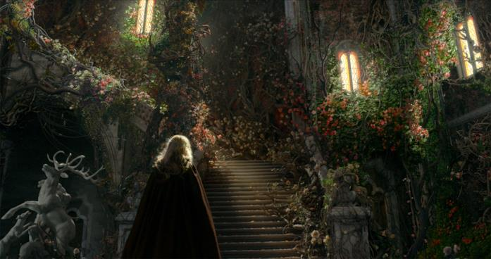 Una scena de La Bella e la Bestia 2014
