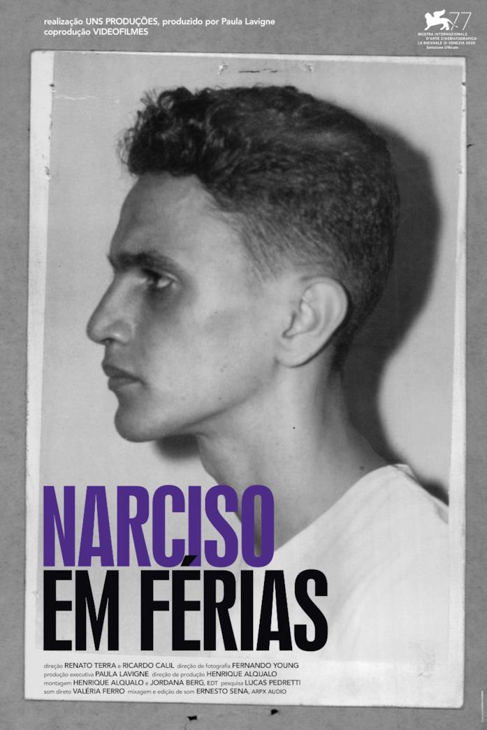 Il poster ufficiale del film Narciso in vacanza