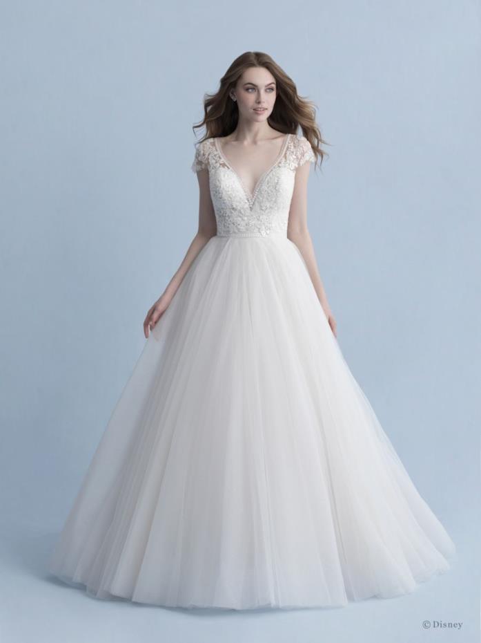Abito sposa Allure Bridals dedicato a Cenerentola