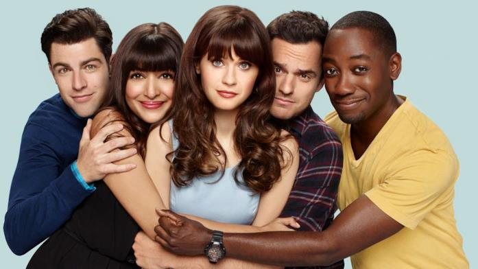 New Girl simile a Friends