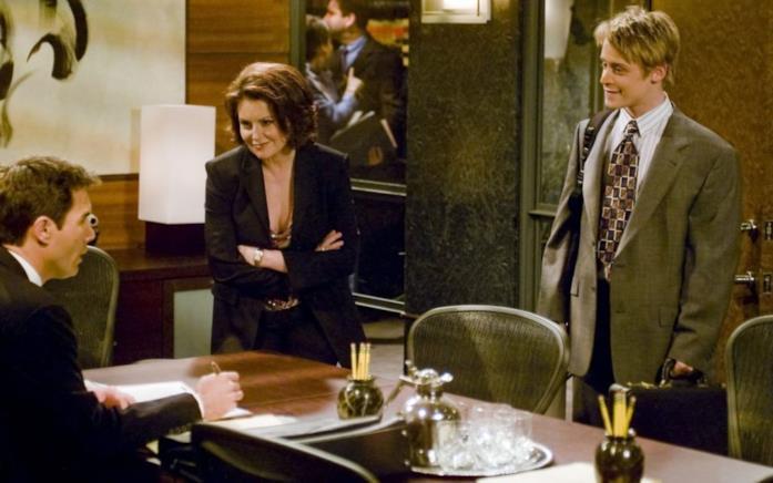 Karen con Macaulay Culkin