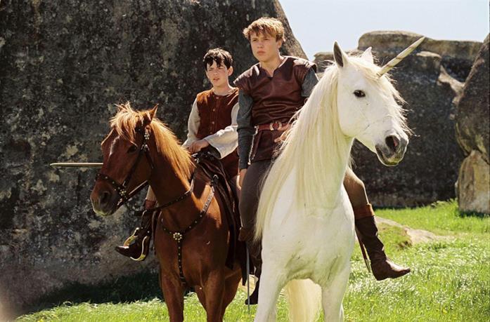Una scena del primo film de Le cronache di Narnia