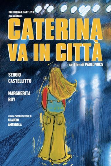 Poster Caterina va in città