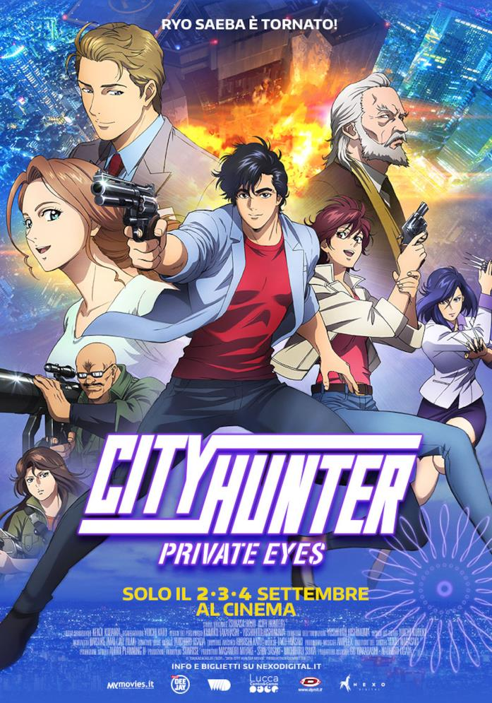 Personaggi e poster City Hunter Private Eyes