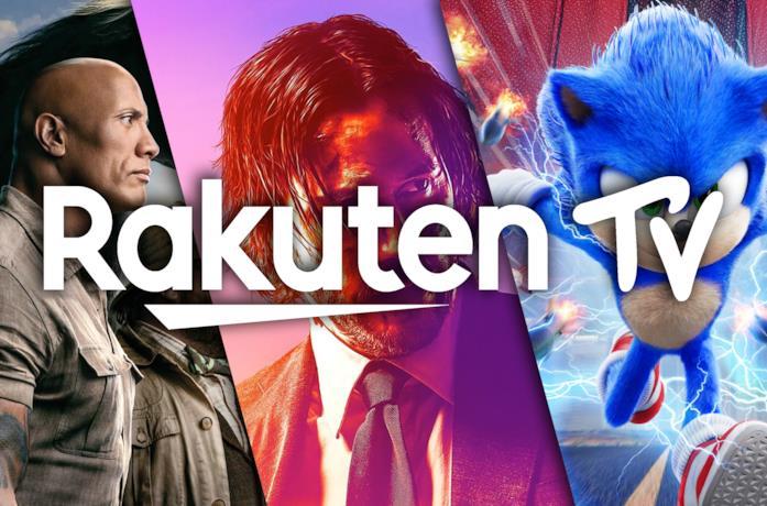 Il logo di Rakuten TV
