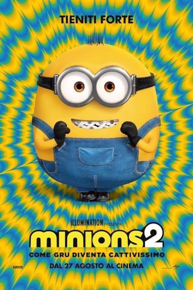 Poster Minions 2 - Come Gru diventa cattivissimo