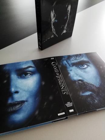 Cersei e Tyrion sul retrro del case di GoT 7 in Blu-ray