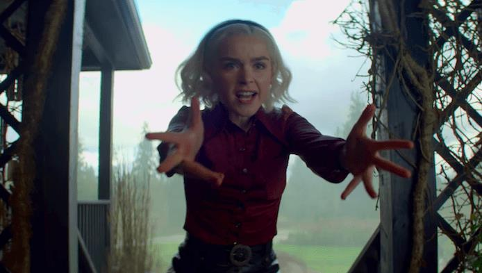 Sabrina utilizza i propri poteri