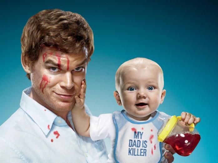 Dexter e il figlio