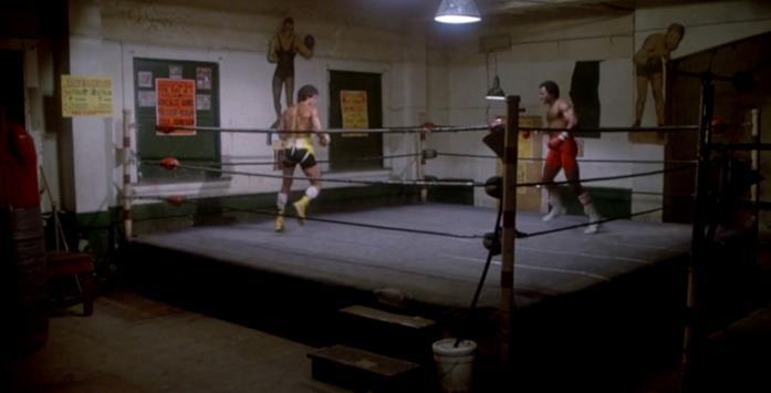 Rocky e Apollo Creed si scontrano per un match a porte chiuse
