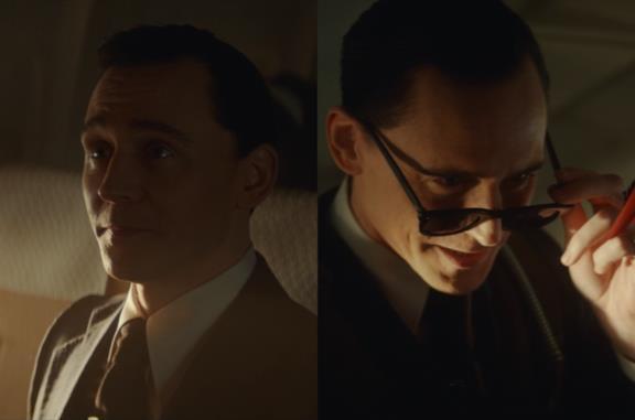Loki nei panni di Cooper