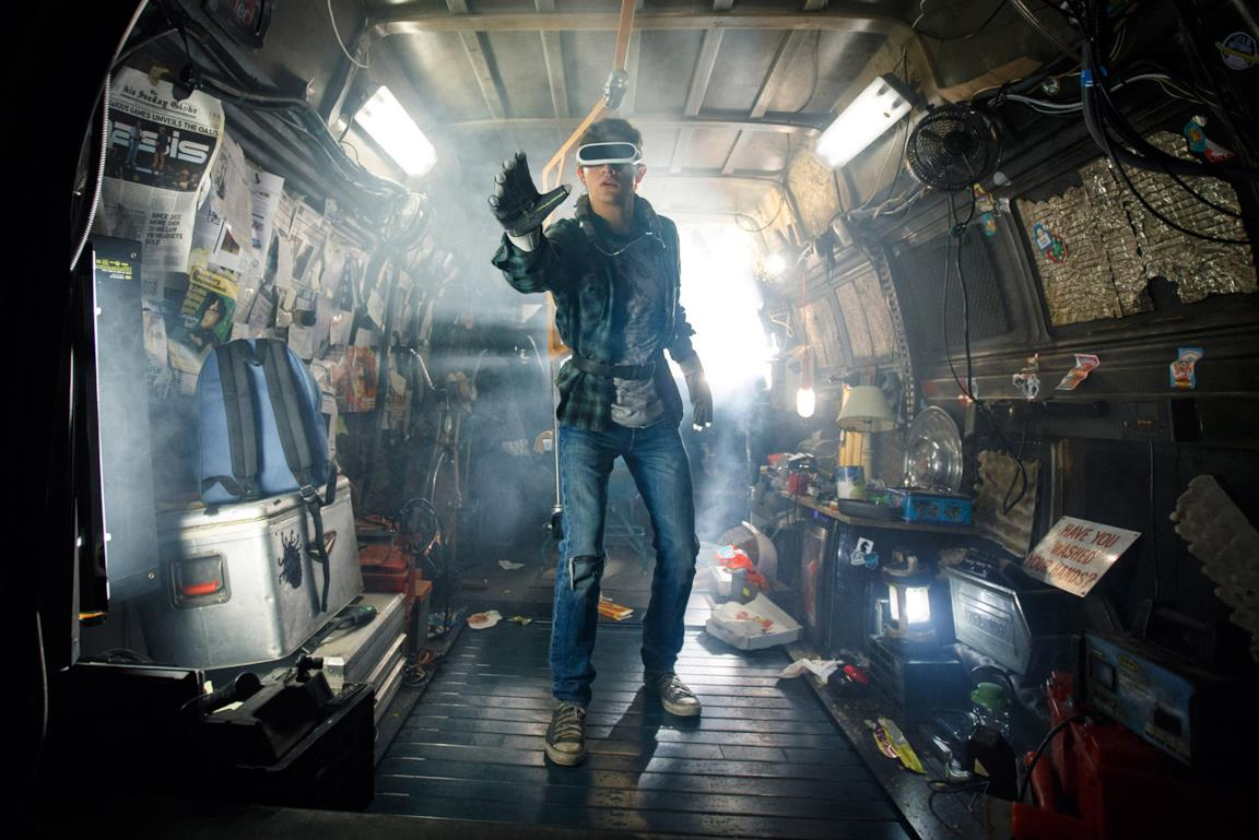 Un'immagine del film Ready Player One