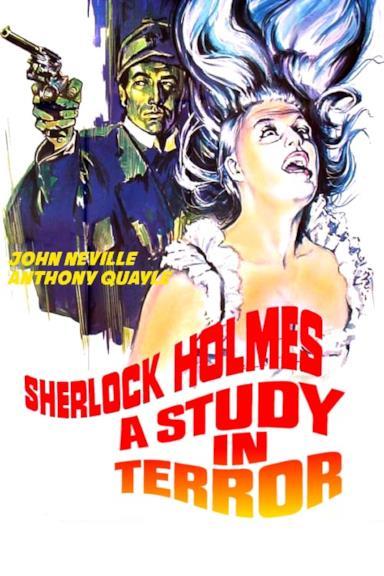 Poster Sherlock Holmes in notti di terrore