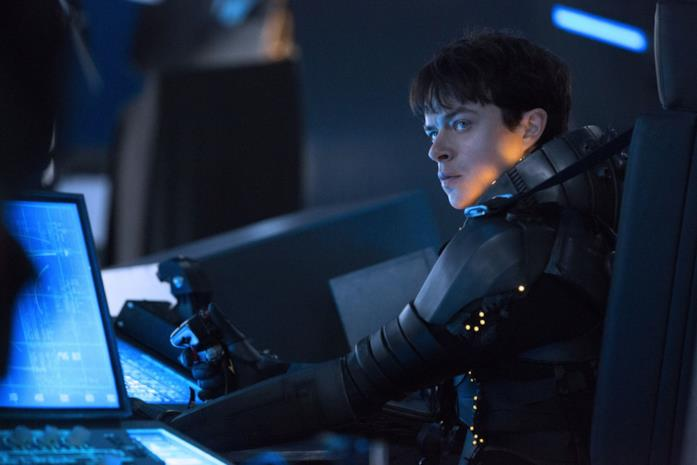 Dane DeHaan in una scena di Valerian