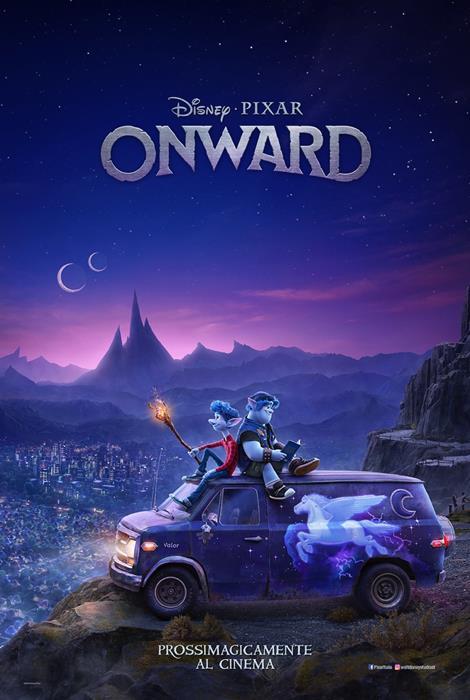 Onward - Oltre la magia: poster