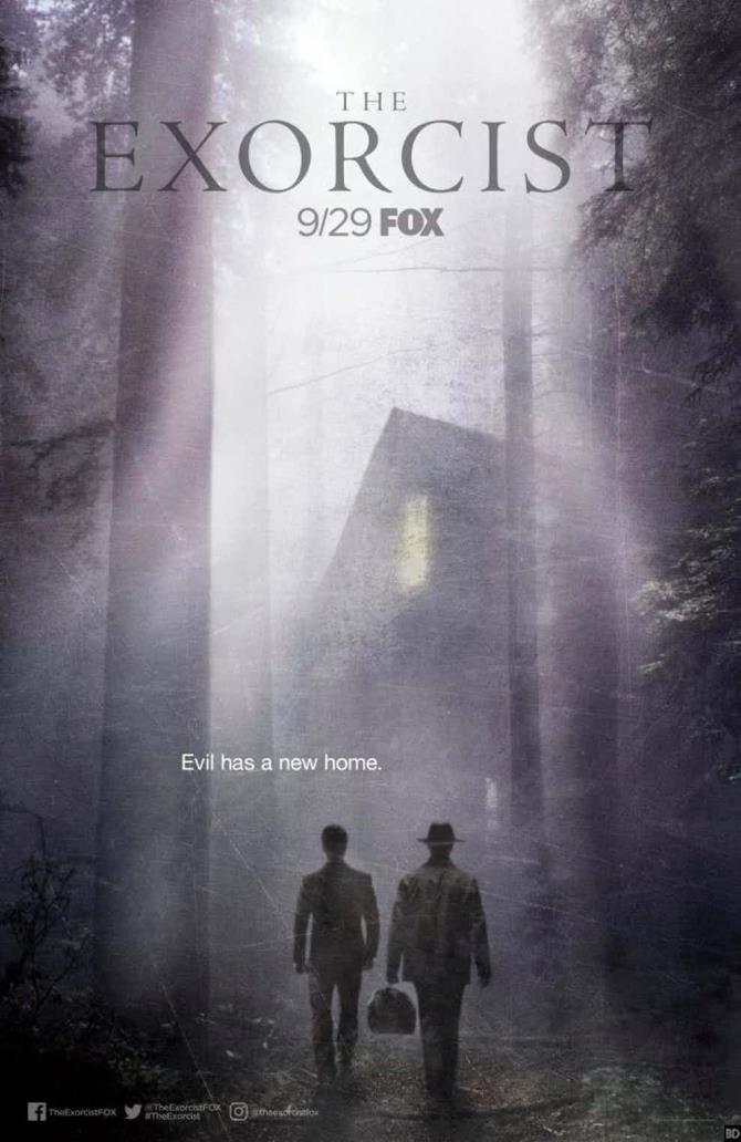 Il poster ufficiale per la seconda stagione di The Exorcist