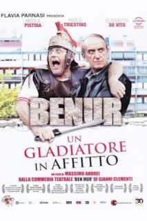 Poster Benur - Un gladiatore in affitto