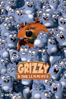 Poster Grizzy e i Lemming