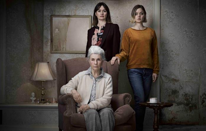 Ena, Kay e Sam in una foto promozionale per Relic