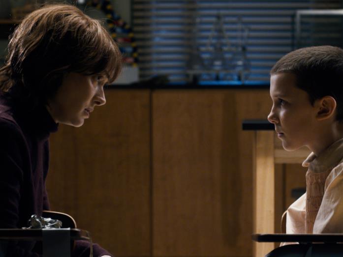 Eleven e Joyce Byers di Stranger Things