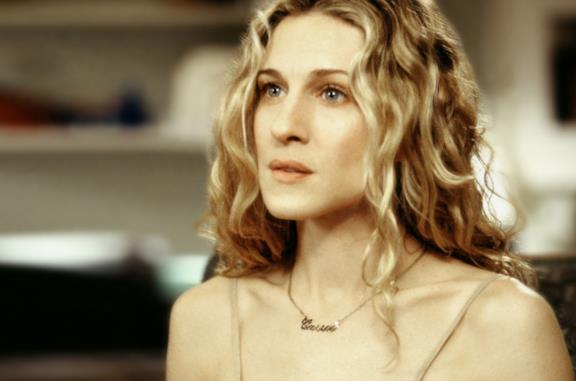 Carrie Bradshaw in primo piano