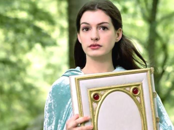 Anne Hathaway, protagonista de Il magico mondo di Ella
