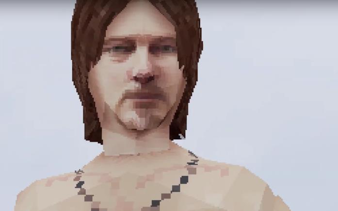 Sam Porter Bridges immaginato con grafica da PlayStation