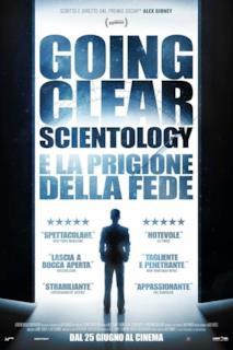 Poster Going Clear: Scientology e la prigione della fede
