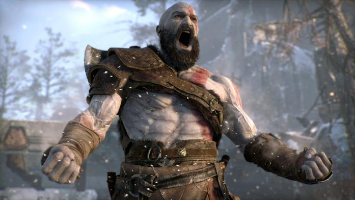 Kratos ruggisce nel nuovo God of War per PS4
