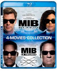 Men In Black Collection (Box Set) (4 Blu Ray)