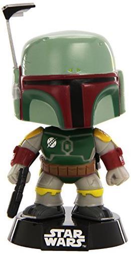Funko- Star Wars Bobble Guerre Stellari Boba Fett, 2386