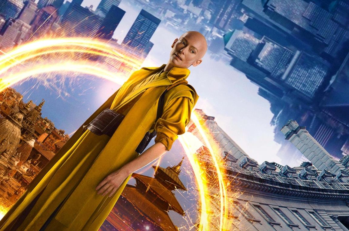 Tilda Swinton è l'Antico in Doctor Strange