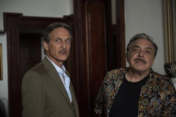 Cesare Bocci e Nino Frassica