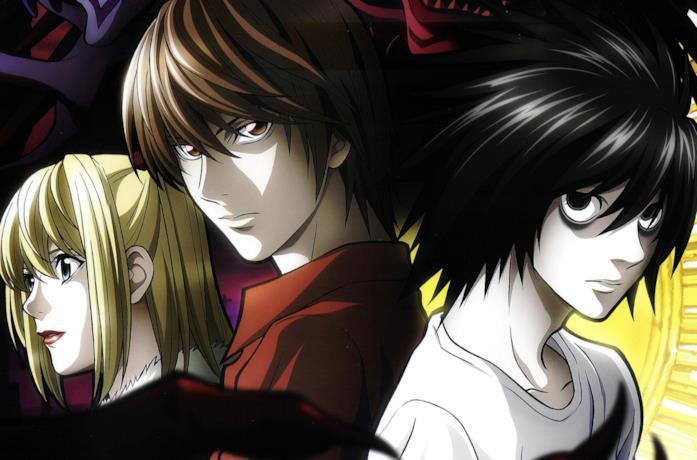 Un poster promozionale di Death Note