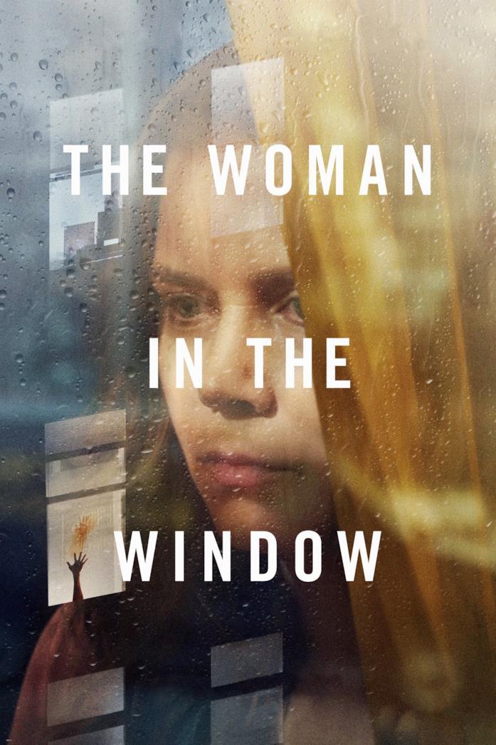 Amy Adams nella locandina de La donna alla finestra