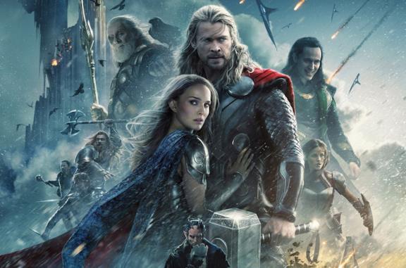 Thor e Jane Foster in evidenza nel poster di Thor: The Dark World