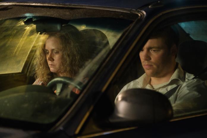 Bev e J. D. in macchina
