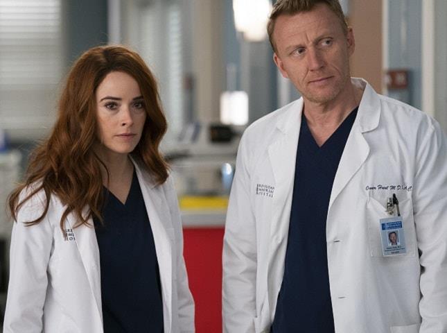 Megan Hunt torna in Grey's Anatomy 18