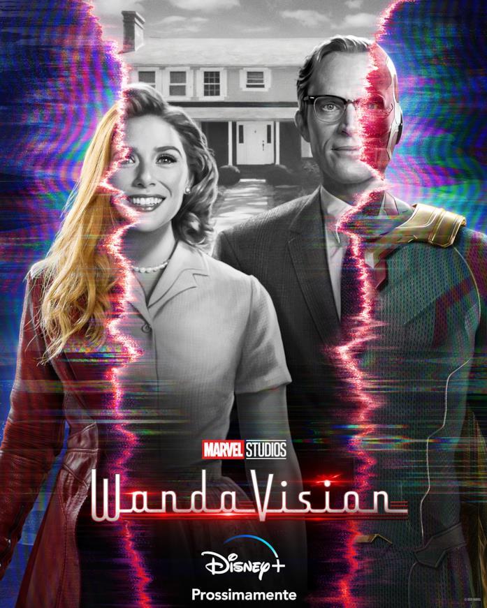 Wanda e Visione sul poster italiano di WandaVision