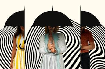 I protagonisti di The Umbrella Academy