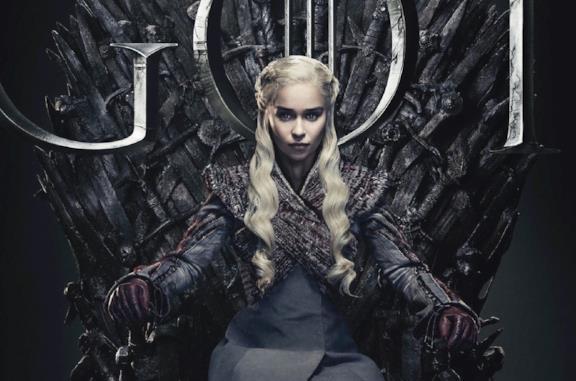 Drogon e Viserion in Game of Thrones