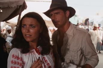 Indy e Marion ne I predatori dell'arca perduta