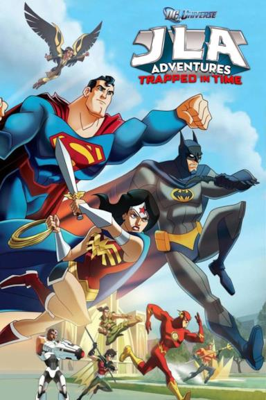 Poster JLA Adventures: Trapped in Time