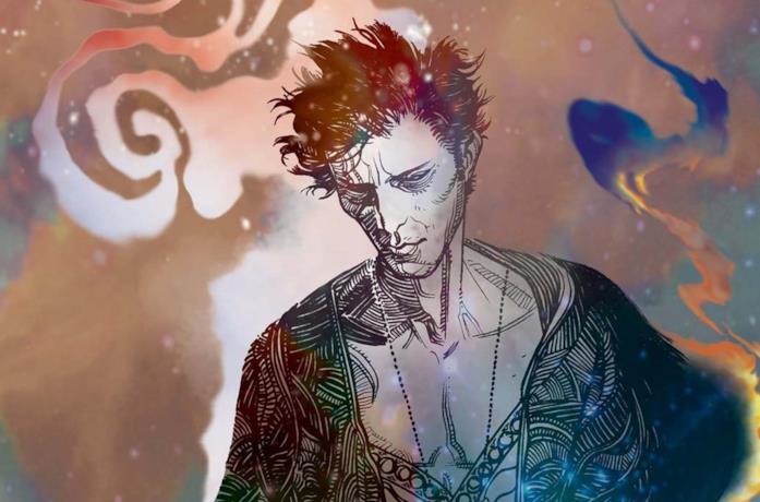 Una grafica di The Sandman