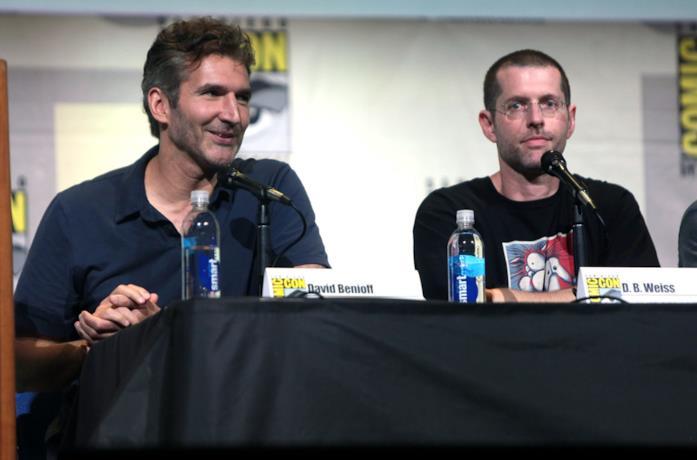 David Benioff e D. B. Weiss al Comic-Con di San Diego nel 2016