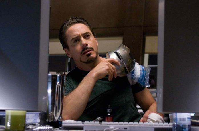 Robert Downey Jr. nel ruolo nel 2008
