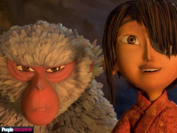 Monkey con Kubo nelle prime immagini del nuovo film Laika
