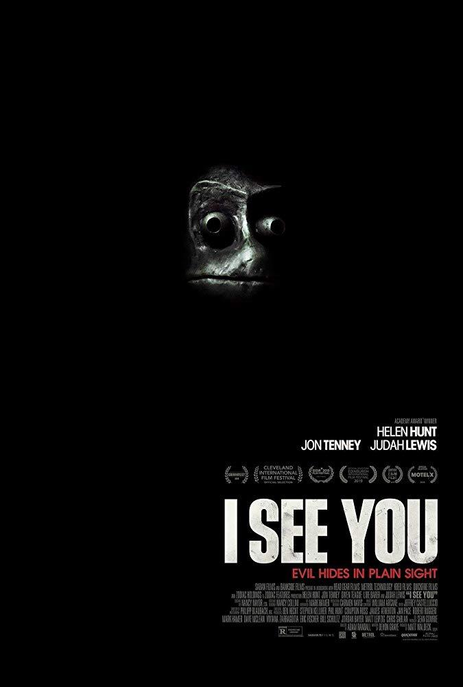 Il poster ufficiale del film I See You